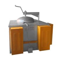 废铝熔炼炉 800KG重油柴油熔化炉