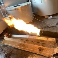 500KG燃油炉 坩埚式熔炼炉