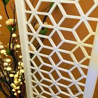 中式防盗网-雕刻铝窗花
