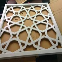 铝合金中式防盗网-雕刻铝窗花定制
