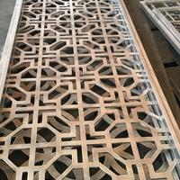 铝合金中式防盗网-雕刻铝窗花厂家