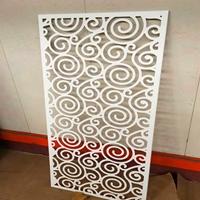 雕刻铝窗花-铝合金中式防盗网厂