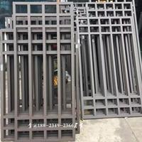 景观区铝合金防盗网铝花格 中式隔断铝花格