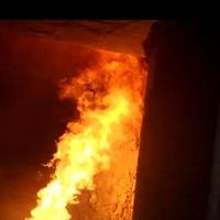 烧煤熔铝炉 燃煤燃烧器火力大