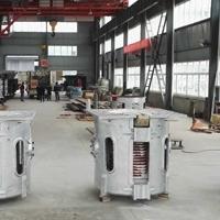 500KG中频熔铝炉 高效率熔化炉