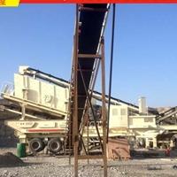 花岗岩石料移动破碎机生产线设备配置