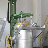 電加熱烤包器 鋁水轉運包烘烤器