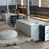 250KG蓄热式燃气炉 熔铝保温炉