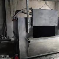 烧煤化铝炉 大型废铝熔化炉