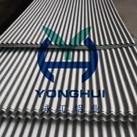 供应896型弧形波纹压型铝板