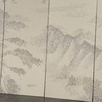 艺术透光冲孔铝板 不规则冲孔铝单板
