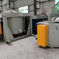 500T压铸机边炉 坩埚式熔铝保温炉