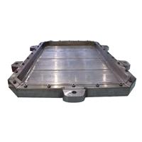 广东兴发铝业定制汽车电池铝托盘型材