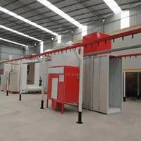 PP大旋風噴粉房鋁質品靜電涂裝設備