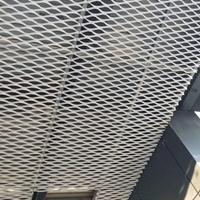 鋁拉網板天花吊頂-黑色鋁網板定制