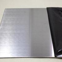 国标5052拉丝铝板 阳极氧化拉丝打孔加工