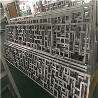 廠房建造改建裝飾定制鋁型材窗花