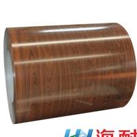 厂家直销别墅瓦  海耐彩色钢板 木纹彩钢