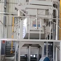 2000kg铝合金集中熔化炉 燃气炉
