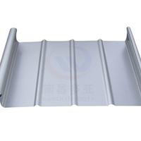 0.9厚聚酯銀灰色鋁鎂錳板廠家直銷