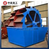中嘉重工盘式洗砂机可轻松提高山砂品质