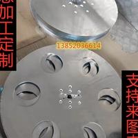 铝板定制铝合金圆片加工冲孔沉头直销商