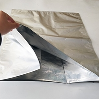 ESD铝箔风琴袋纯铝折边袋厂家定制