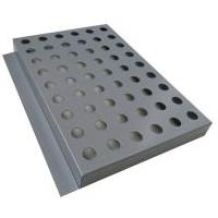 傳祺4s店外墻深灰色幕墻沖孔鍍鋅板