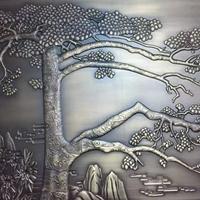 金属铝雕古铜立体浮雕壁画仿铜装饰背景墙