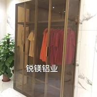 高档全铝窄边玻璃门衣柜