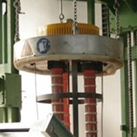 厂家定制铝水转运包烘烤器 预热机