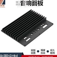 智高定制铝合金制品压铸音响铝面板