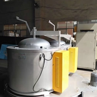 燃气双子炉 铝合金电熔炉 AB互换炉
