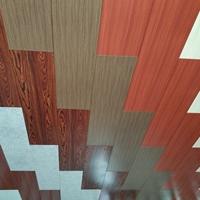 3D手感木纹铝单板PVDF材料木纹
