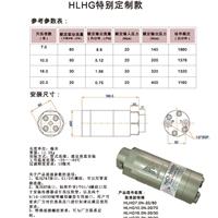 恒成HLHG系列大流量超高壓液壓增壓器