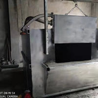 燃气式废铝熔化炉 铝合金蓄热式炉