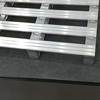 仓储物流专项使用高度度叉车铝托盘成批出售