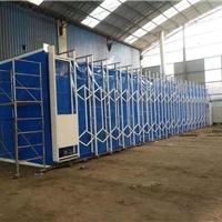 伸缩式喷漆房废气处理使用的设备