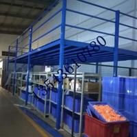 从化立柱式平台阁楼平台布料重型仓储货架