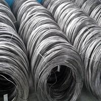 彩色铝线 包胶铝锭形线6063 工厂直销铝扁线