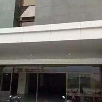 商業大廈屋檐雨棚鋁單板  門頭飄棚遮陽鋁板