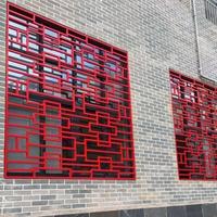 房屋外墻裝飾鋁合金花格窗批發