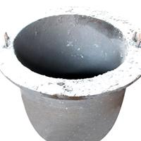 蓄热式燃气熔化炉坩埚 铸铁坩埚