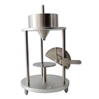 粉塵安息角測定儀測量奶粉面粉流動性