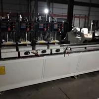 一整套制作塑鋼門窗機器設備塑鋼焊接機