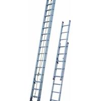 定做高度度消防伸缩铝梯型材