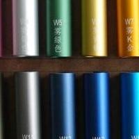 烤漆铝管 氧化着色圆铝管 彩色铝管加工