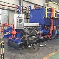 750T小型铝材挤压机生产纱窗薄料型材