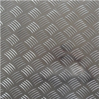 供应 1060五条筋花纹 5052 铝板压花铝板