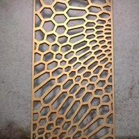 木紋鋁制窗花 焊接鋁制窗花批發